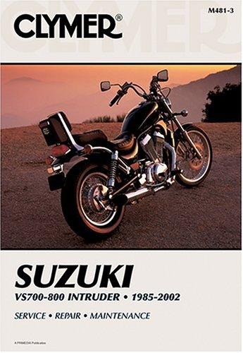 9780892878185: Clymer Suzuki Vs700-800 Intruder: 1985-2002 (Clymer Motorcycle Repair)