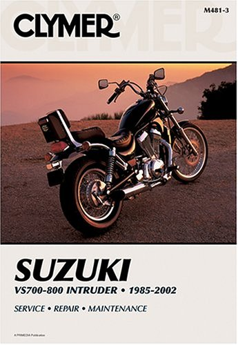 9780892878185: Clymer Suzuki Vs700-800 Intruder: 1985-2002