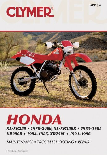 9780892878215: Honda: XL/XR250. 1978-2000, XL/XR350R. 1983-1985 XR200R. 1984-1985, XR250L . 1991-1996