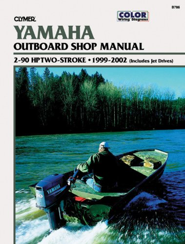 9780892878277: Yamaha Outboards 2-90 hp Two-strokes 1999-2002 (Clymer Manuals: Motorcycle Repair)