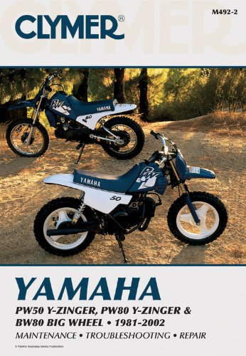 9780892878284: Yamaha PW50 Y-Zinger, PW80 Y-Zinger and BW80 Big Wheel 81-02 (Clymer Motorcycle Repair)