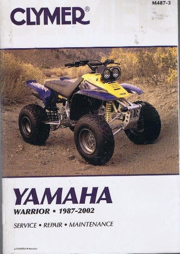 9780892878307: Clymer Yamaha Warrior, 1987-2002 (Clymer Motorcycle Repair)