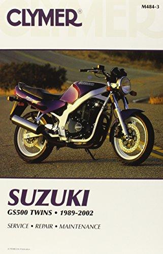 Suzuki GS500 Twins 1989-2002 (Clymer Motorcycle Repair): Penton Staff