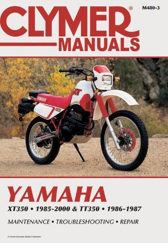9780892878352: Yamaha Xt350 and Tt350 1985-2000 (Clymer Motorcycle Repair)