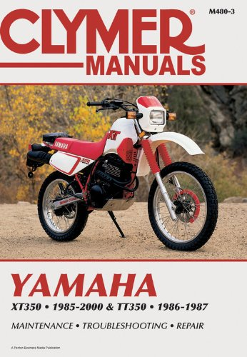 9780892878352: Yamaha Xt350 and Tt350 1985-2000 (Clymer Motorcycle Repair)