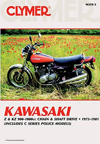9780892878376: Kawasaki Z & Kz 900-1000 CC Chain & Shaft Drive 1973-1981 (Clymer Motorcycle Repair)