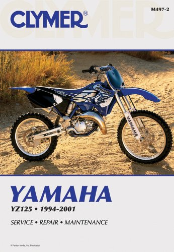 9780892878390: Yamaha YZ125 1994-2001 (Clymer Motorcycle Repair)