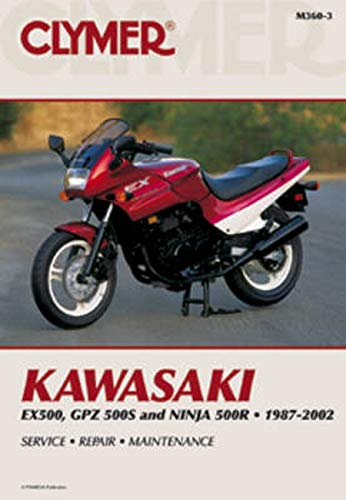 9780892878420: Kawasaki EX500, GPZ500S and Nina 500R 1987-2002 (Clymer Motorcycle Repair)