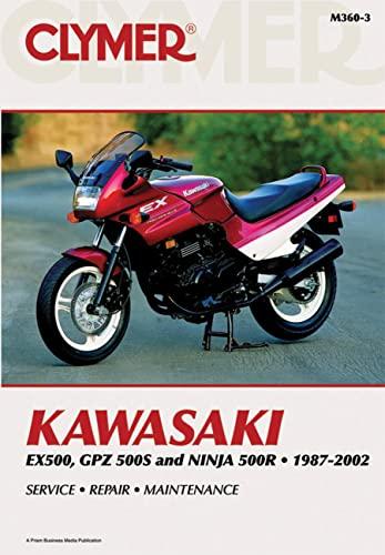 9780892878420: Kawasaki EX500, GPZ500S and Nina 500R 1987-2002 (Clymer Motorcycle Repair)