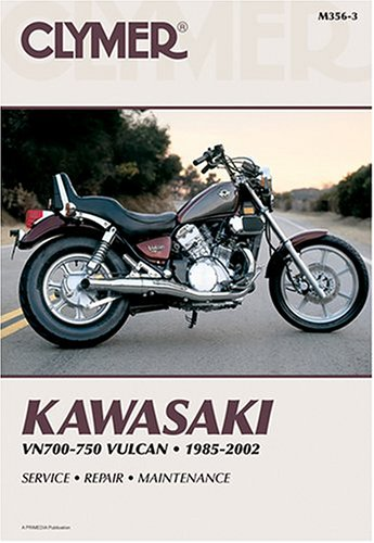 9780892878437: Clymer Kawasaki Vn700-750 Vulcan, 1985-2002 (Clymer Motorcycle Repair)
