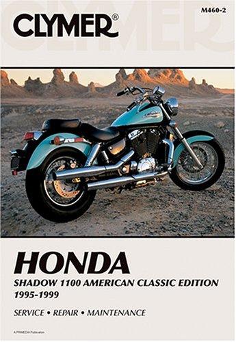9780892878444: Honda Shadow 1100 1995-1999 (Clymer Motorcycle Repair)