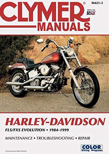 9780892878451: Clymer Harley-Davidson: FLS/FXS Soft Tail Big-Twin Evolution 1984-1999