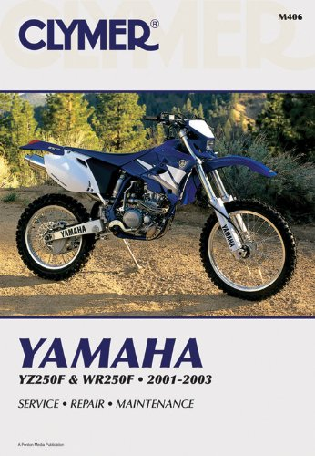 9780892878512: Yamaha Yz250F & Wr250F 2001-2003: Service, Repair , Maintenance
