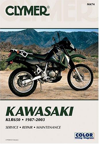 9780892878529: Kawasaki Klr650: 1987-2003 (Clymer Motorcycle Repair)