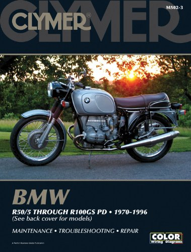 9780892878543: BMW R50/5 through R100GS PD 1970-1996 (Clymer Motorcycle Repair)