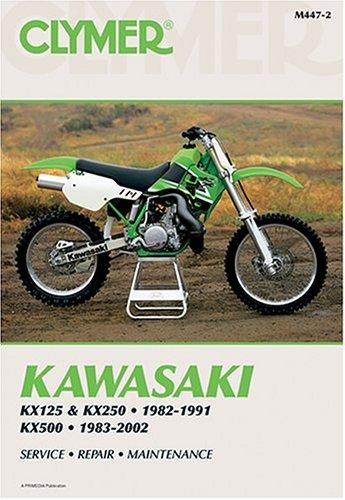 9780892878642: Kawasaki Kx125 & Kx250, 1982-1991 Kx500, 1983-2002 (Clymer Motorcycle Repair)