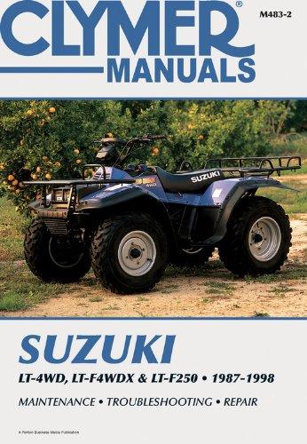 9780892878666: Suzuki Lt-4Wd, Lt-F4Wdx & Lt-F250, 1987-1998 (Clymer Motorcycle Repair)