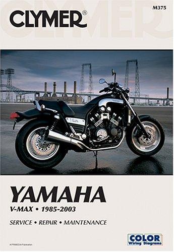 9780892878680: Yamaha V-max 1200 88-03 (CLYMER MOTORCYCLE REPAIR)