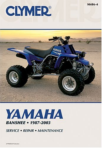 Clymer Yamaha Banshee 1987-2003 (Atv): Clymer Publications