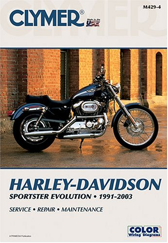 Harley-Davidson Sportster Evolution, 1991-2003 (Clymer Motorcycle Repair): Primedia Business ...