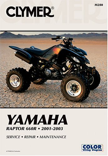 9780892878772: Yamaha Raptor 660R 2001-2003: Service-Repair-Maintenance