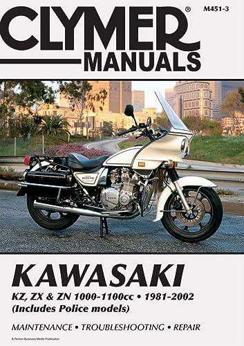 9780892878789: Kawasaki Kz, ZX & Zn 1000-1100cc 81-02 (Clymer Motorcycle Repair)
