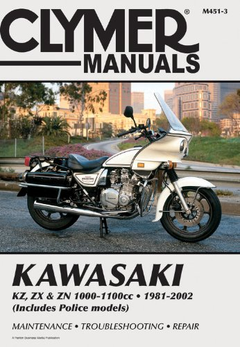 Kawasaki Kz,Zx and Zn 1000-1100Cc 1981-2002 (Clymer: Other Contributor-Ron Wright