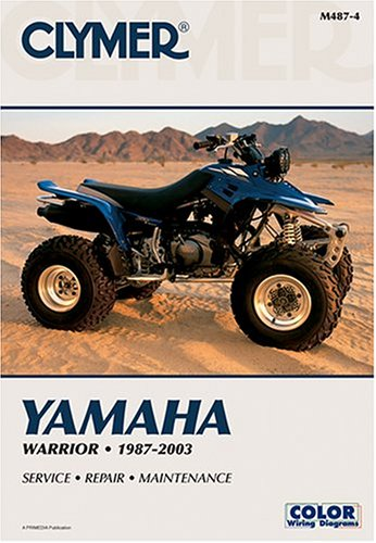 Yamaha Warrior, 1987-2003 (Atv): Clymer Publications
