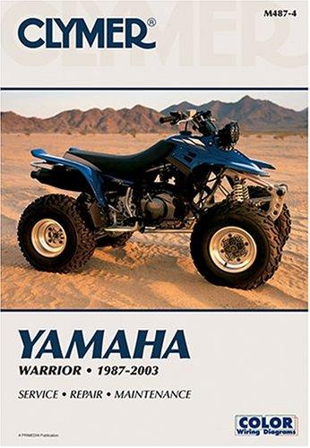 9780892878802: Clymer Yamaha Warrior, 1987-2003 (Atv)