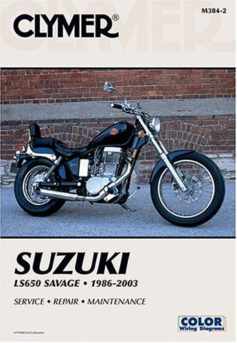 9780892878826: Suzuki Ls650 Savage 1986-2003 (Clymer Motorcycle Repair)