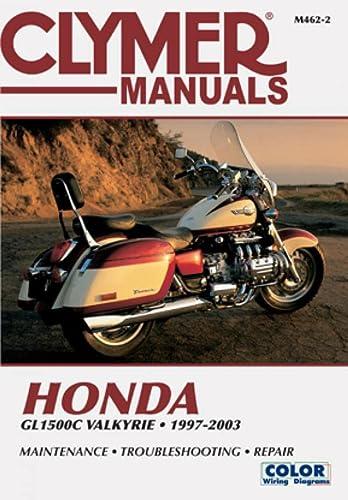 9780892878857: Clymer Honda Gl1500C Valkyrie, 1997-2003