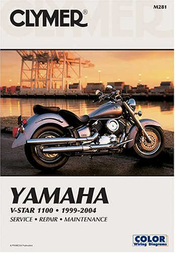 9780892878901: Yamaha V-Star 1100 1999-2004 Service, Repair Maintenance (Clymer Manual)