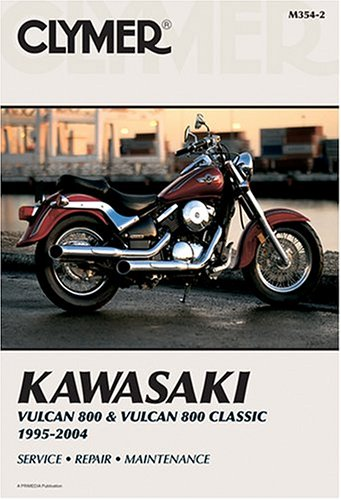 9780892878949: Kawasaki VN800 Vulcan A/B 1995-02 (Clymer Motorcycle Repair)