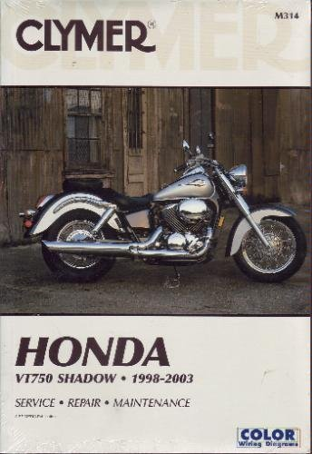 9780892878970: Clymer Honda: VT750 Shadow, 1998-2003 (Motorcycle)