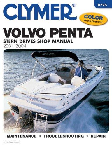 9780892878987: Volvo Penta Stern Drive Shop Manual 2001-2004 (Clymer Marine Repair)