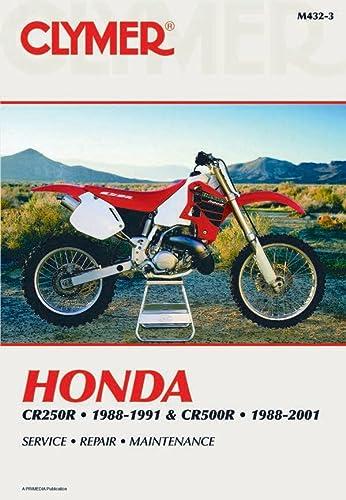 9780892879007: Honda CR250 1988-1991 - CR500R 1988-2001 (Clymer Manuals: Motorcycle Repair)