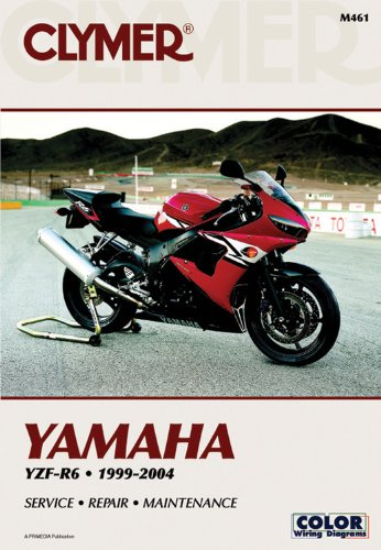 9780892879069: Yamaha YZF-R6 1999-2004 (CLYMER MOTORCYCLE REPAIR)