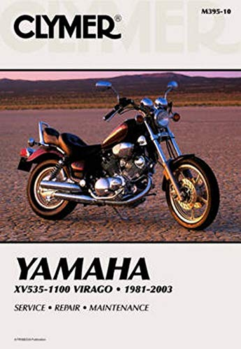 9780892879076: Clymer Yamaha XV535-1100 Virago 1981-2003: Service, Repair, Maintenance (Clymer Motorcycle Repair)
