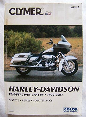 9780892879090: Clymer Harley-Davidson Fxd Twin Cam 88, 1999-2003
