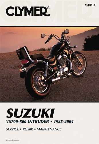 9780892879106: Suzuki VS700/800 Intruder 1985-04 (Clymer Motorcycle Repair)