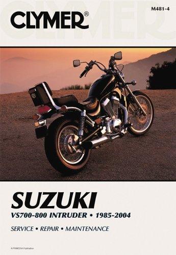 9780892879106: Suzuki Vs700-800 Intruder 1985-2004 (Clymer Motorcycle Repair)