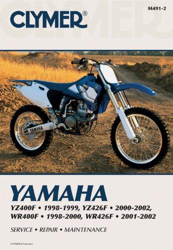 Yamaha YZ400F 1998-1999, YZ426F 2000-2002, WR400F 98-00 WR426F 0102 (Clymer Motorcycle Repair): ...