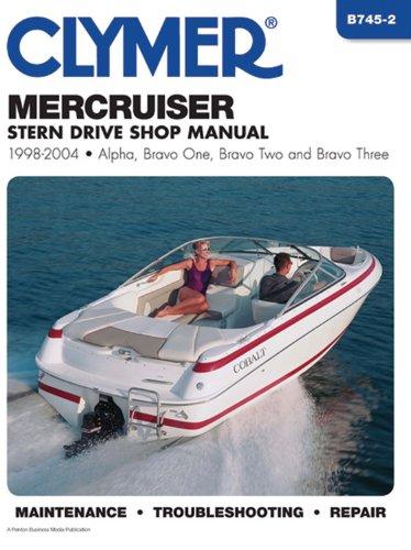 9780892879144: Mercruiser Stern Drive Shop Manual 1998-2004 (Clymer Marine Repair)
