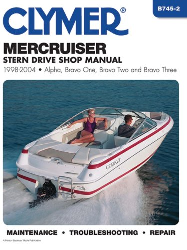 9780892879144: Mercruiser Stern Drives 1998-2004 (Clymer Marine Repair)