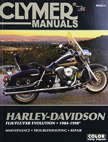 Harley-Davidson FLH/FLT/FXR Evolution 1984-1998 (Clymer Motorcycle Repair): Penton Staff