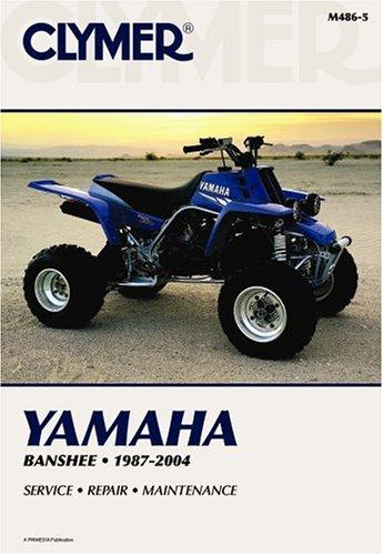 9780892879175: Yamaha Banshee YZF350 87-2004 ATV (Clymer Motorcycle Repair)