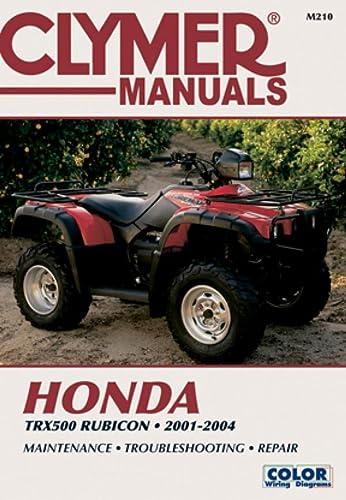 9780892879205: Honda TRX500F 2001-2004 (CLYMER MOTORCYCLE REPAIR)