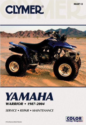 9780892879236: Yamaha Warrior YFM350X 1987-2004 ATV (Clymer Motorcycle Repair)