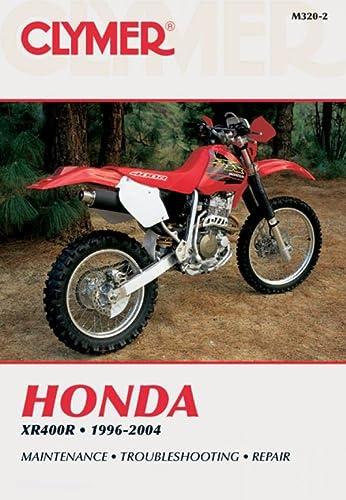 9780892879243: Honda XR400R 1996-2004 (Clymer Motorcycle Repair)