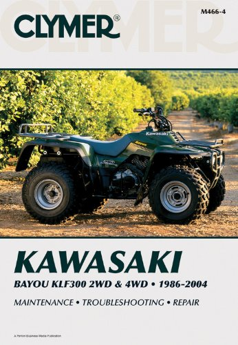 Kawasaki Bayou KLF300 2WD & 4WD (Clymer Motorcycle Repair): Penton Staff